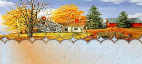 Papiers incrédimail automne