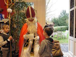 saint Nicolas nous rend visite