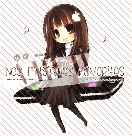 Nos musiques favorites