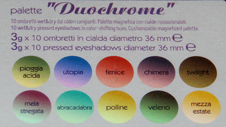 fards duochrome de Neve Cosmetics