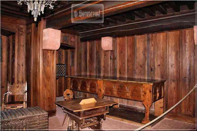 Haut Koenigsbourg Chambre et antichambre de l'Impératrice