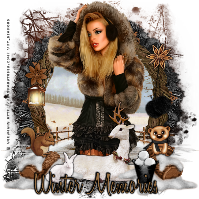 "Tutoriel ""Winter Memories"" de Liligraph"