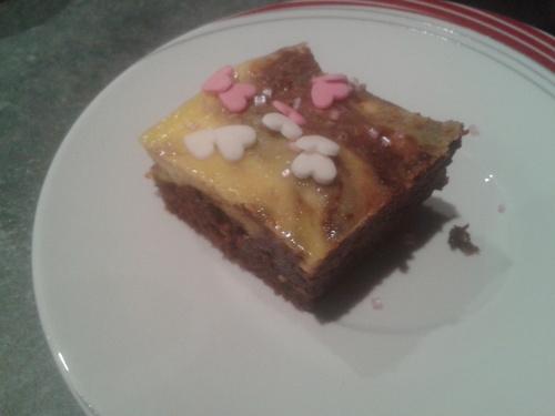 Brownies Marbrés Philadelphia