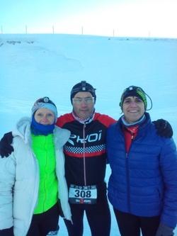 snow running challenge