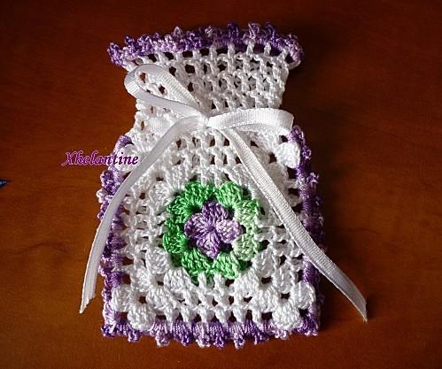 sachet senteur violet