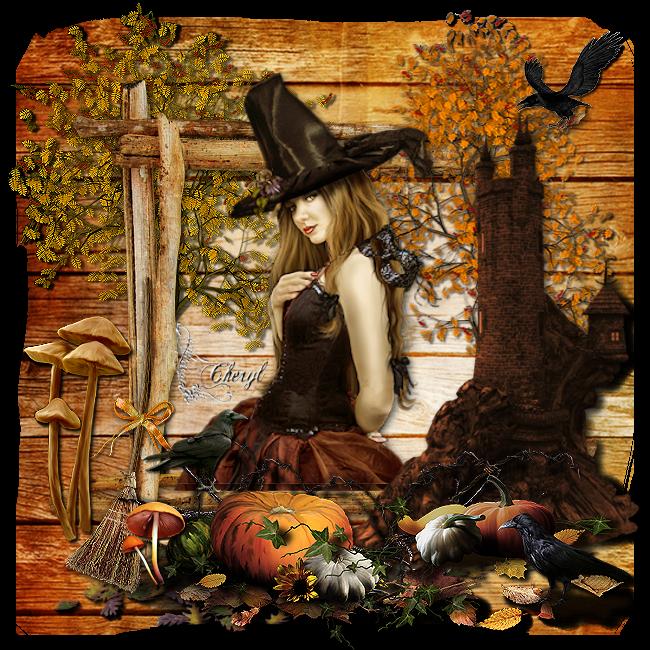 Cadeau de Roger et Chéryl pour Halloween