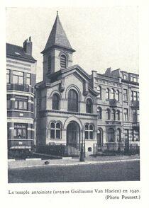 Temple Antoiniste de Forest en 1940