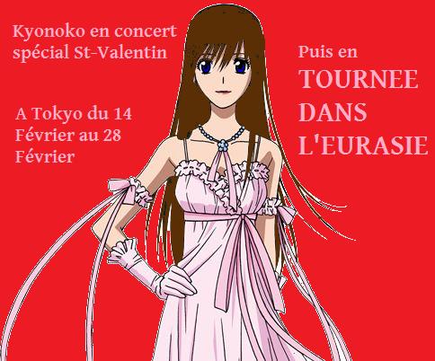 Les concerts de Kyonoko