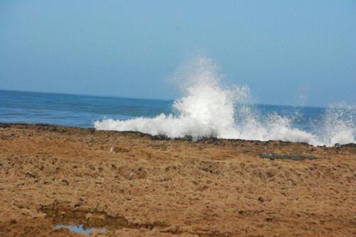 L'océan se déchaîne