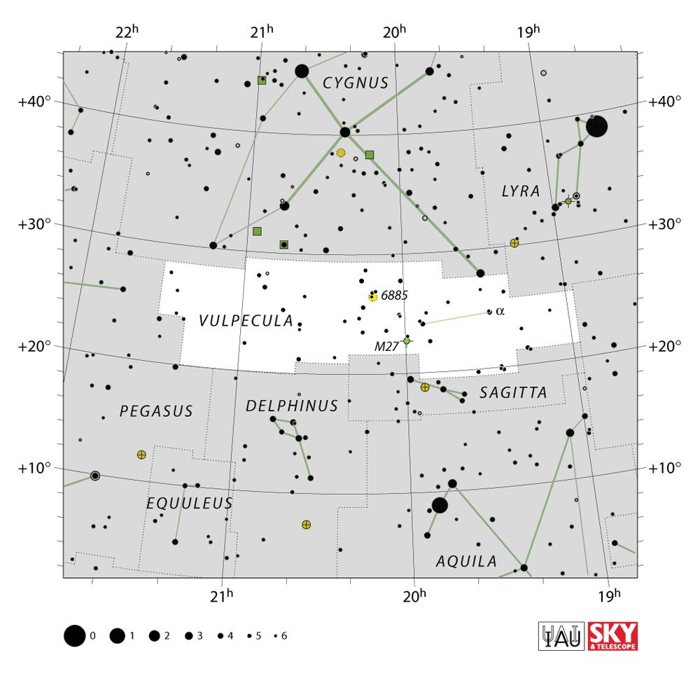 vulpeculae map