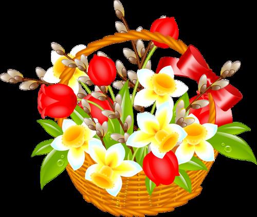 Fleurs de printemps ( Pâques )