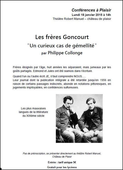 Les frère Goncourt