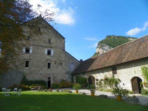 Le château de Montvéran