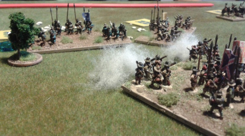 Tercio contre bataillons suédois