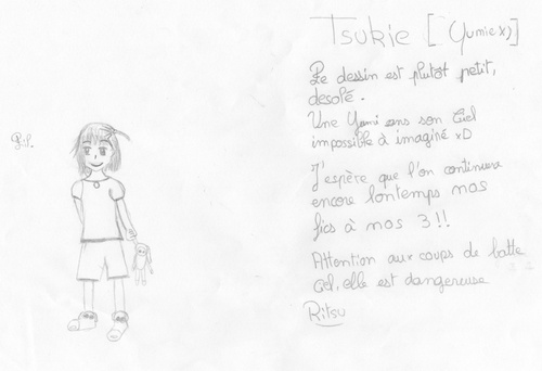 Tsukie x)