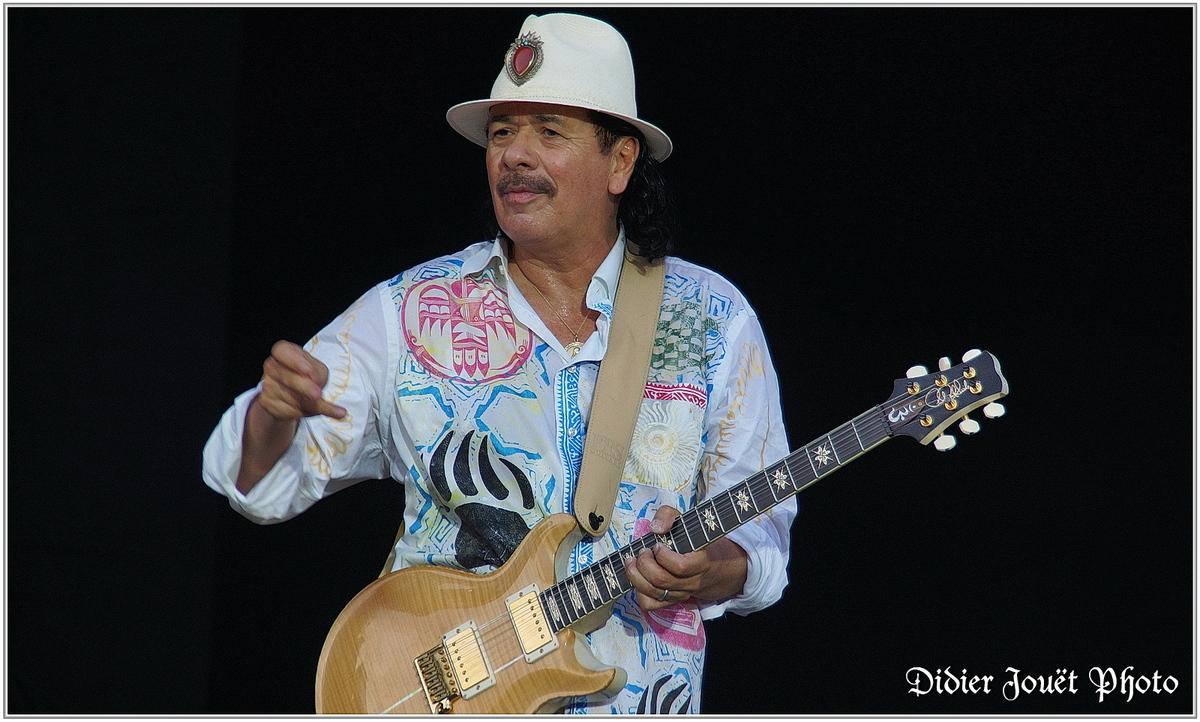 Santana (2) - Festival des Vieilles Charrues 2013