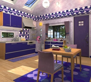 Jouer à Fruit kitchens 6 - Blueberry violet