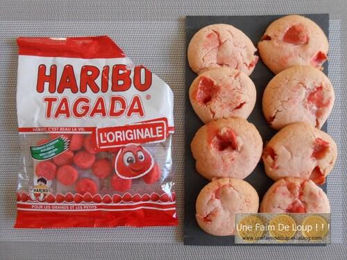 Cookies fraise Tagada