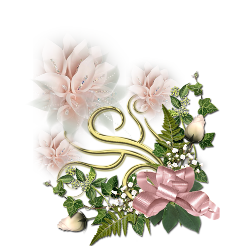 Eléments Vectoriels Fleuris Série 20