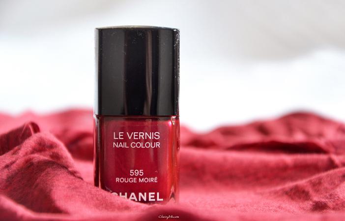 Les Rouges Moirés de Chanel