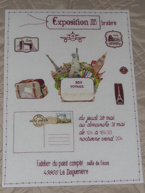 """Mon """"rose sampler"""" enfin terminé..."""