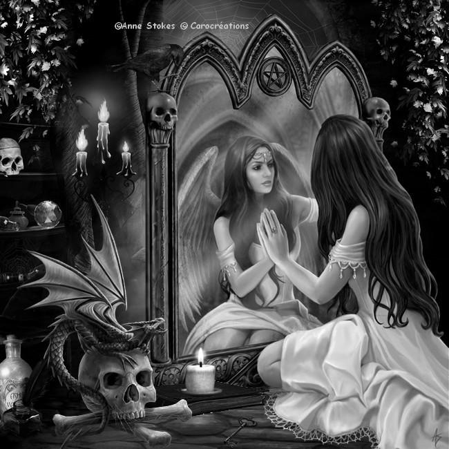 de l autre côté du miroir