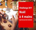 Challenge de Noël à 4 mains : J'y participe