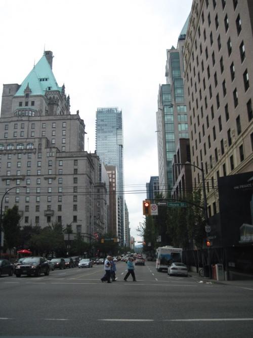 Vancouver, centre ville, downtown)