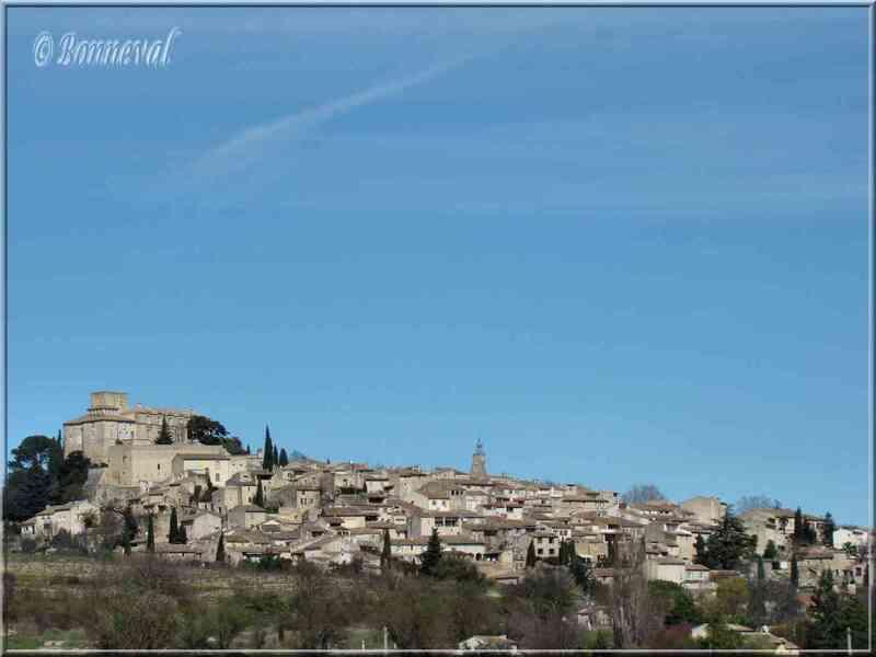 Ansouis Vaucluse village perché