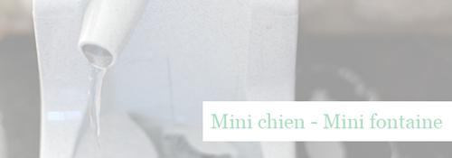 CroquetteLand : Fontaine à eau Drinkwell Mini - Howard le chichi blog