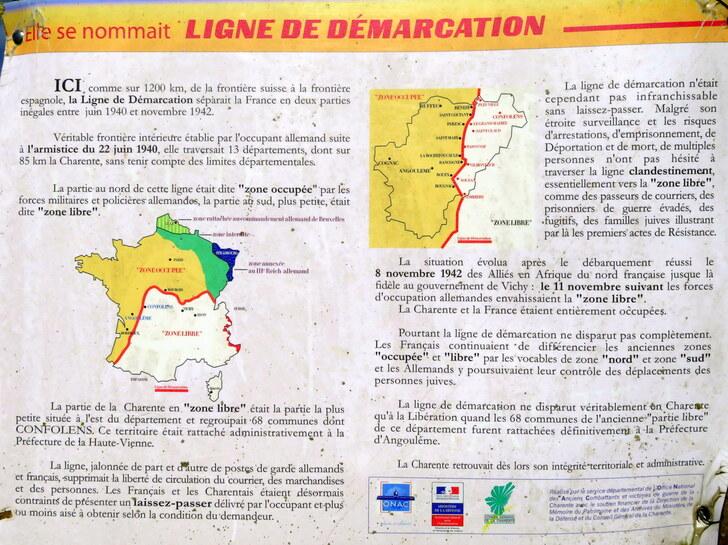 La coulée d'Oc partie Charente