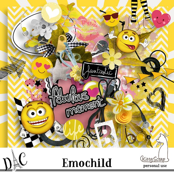 kit emochild de kittyscrap