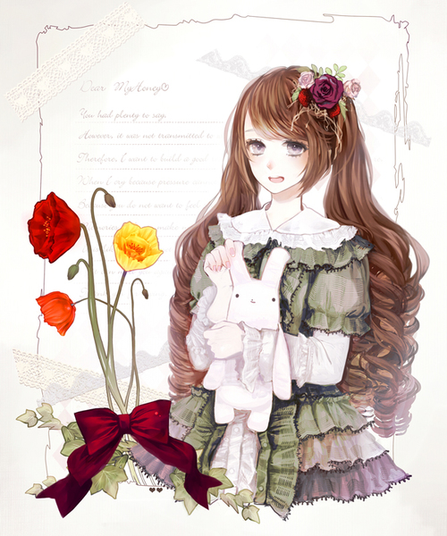 Image de eiri, anime, and girl