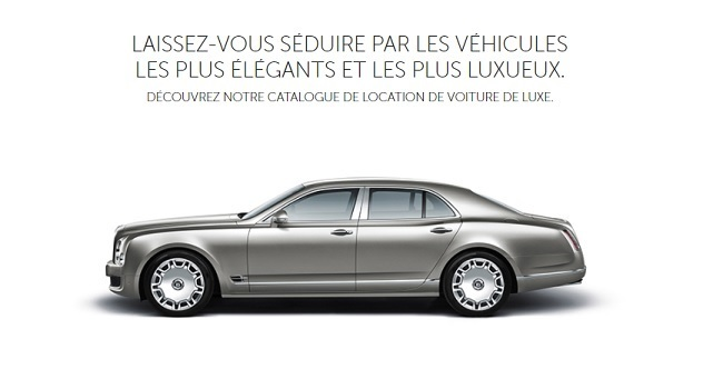 voiture luxe