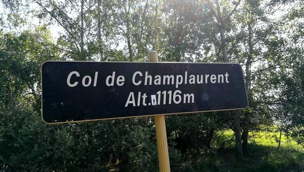 le col de Champlaurent