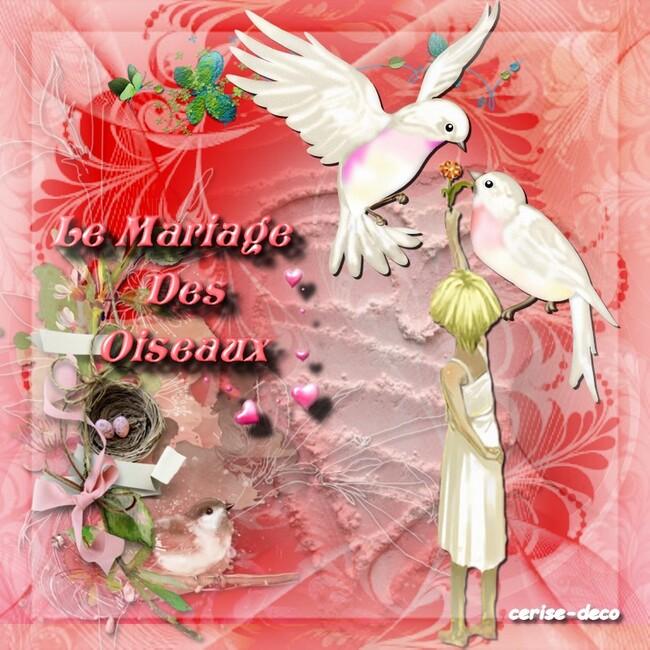 gif mariage des oiseaux pour princesse chanel