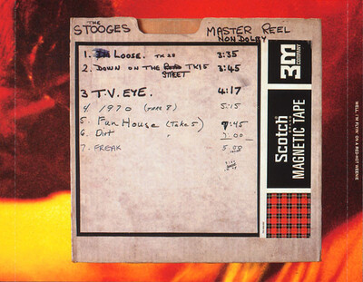 The Stooges  - 1970: The Complete Fun House Sessions - partie 1