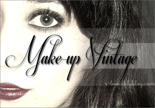 Make up : Vintage Pin-up
