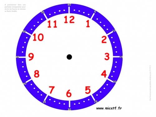 grandeur et mesures : l'heure