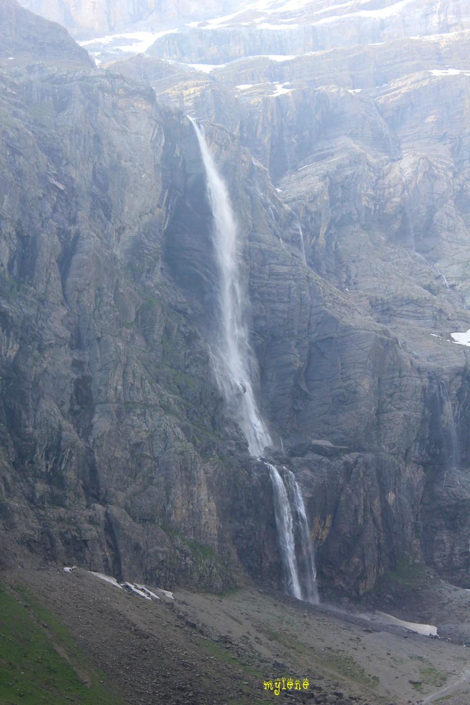 la fameuse cascade spectaculaire