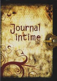 Le journal intime.