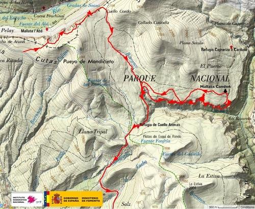 Vallée d'Anisclo : Faja Pardina