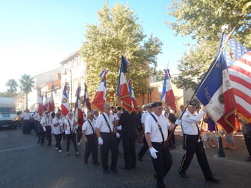 *Fondation France libre Délégation du Var - Cérémonie du 75ème Anniversaire de la Libération de Hyères les Palmiers