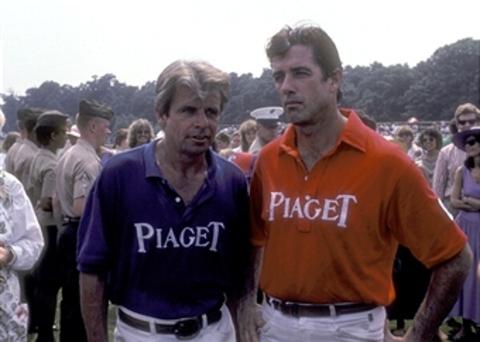 William Devane et Douglas Sheehan à un match de polo.