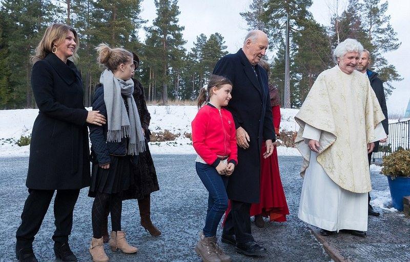 Toujours à la messe