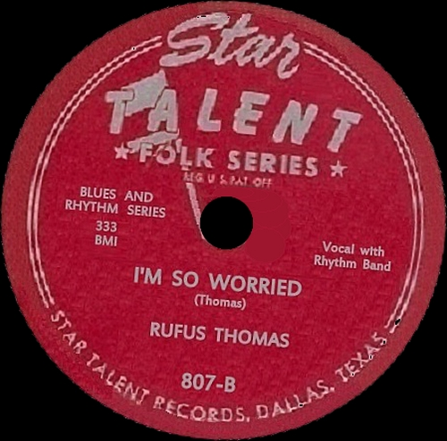 "Rufus Thomas : CD "" Early Years 1950-1956 "" Retroworld Records FLOATB6037 [UK]"