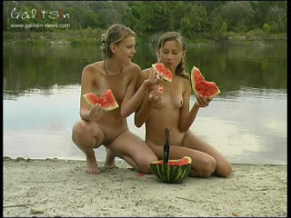 Galitsin-news Video. Watermelon Battle.