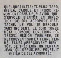 UNE HOTESSE NOMMEE SHEILA / N°1