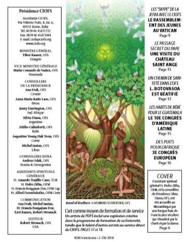 Des Nouvelles du CIOFS (OFS international)