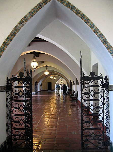 Côte Californienne Santa Barbara County Courthouse 2